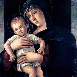 Karon Melillo DeVega - Greek Madonna With Child 1464 Giovanni Bellini