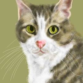 Lois Ivancin Tavaf - Green Eyes and Long Whiskers
