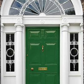 Jane McIlroy - Green Georgian Door - Dublin - Ireland