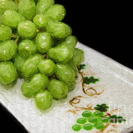Andee Design - Green Grapes Painterly