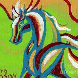 Genevieve Esson - Green Horse