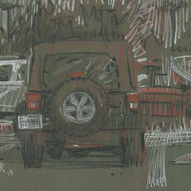 Donald Maier - Green Jeep