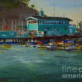 Joan Coffey - Green Pier Early Evening