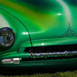 Jordan Blackstone - Green Popsicle 1952 Chevy Coupe with Crankshaft Detail