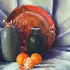 Rich Alexander - Green Vase Still Life