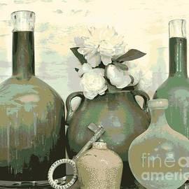 Marsha Heiken - Green Vases Still Life