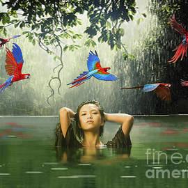 Maureen Tillman - Green Water Red Sky