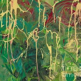 Ania M Milo - Green Yellow Abstract