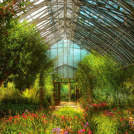 Mike Savad - Greenhouse - Paradise under glass