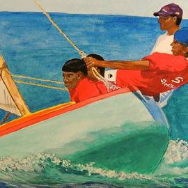 Connie Campbell Rosenthal - Grenada Work Boat