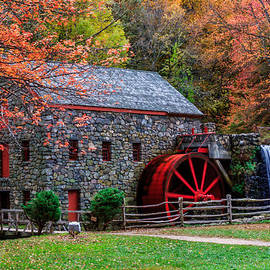 Laura Duhaime - Grist Mill in Autumn