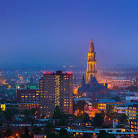 Henk Meijer Photography - Groningen town during blue hour