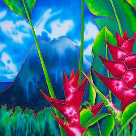 Daniel Jean-Baptiste - Gros Piton and Heliconia