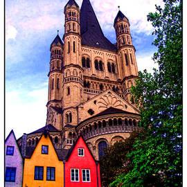 Joan  Minchak - Gross St. Martin in Cologne Germany