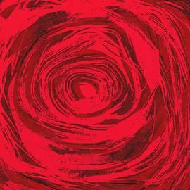 Frances Lewis - Grunge rose