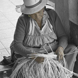 Al Bourassa - Gualaceo Straw Weaver II