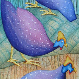 Christelle Grey - Guinea Fowls