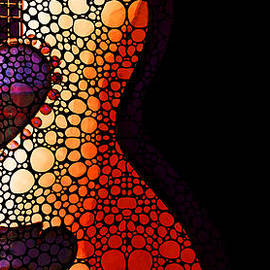 Sharon Cummings - Guitar Art - She Waits