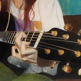 Savanna Paine - Guitar Drawing