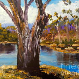 Pamela  Meredith - Gum Trees of the Snowy River