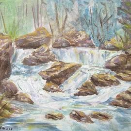 Anwar Sahib - Gushing Water