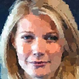 Samuel Majcen - Gwyneth Paltrow Portrait