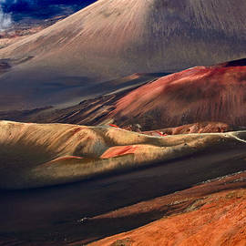 Nature  Photographer - Haleakala - Caldera colors Beautiful Haleakala