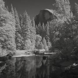Richard Shelton - Half Dome in Infrared