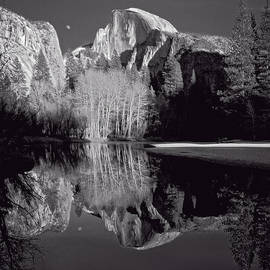 Holly Higbee-Jansen - Half Dome Moon Rise