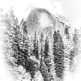 Susan Eileen Evans - Half Dome Winter Portrait