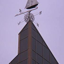 John Malone Halifax graphic artist - Halifax Trade and Convention Centre Weather Vane