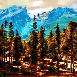 Catherine Fenner - Hallett Peak Rocky Mountain National Park