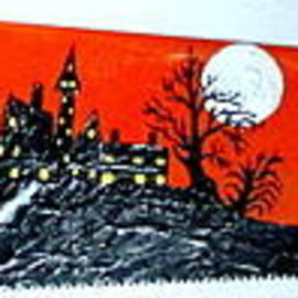 Jeffrey Koss - Halloween Painted Saw