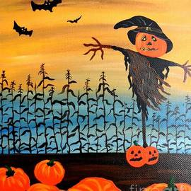 JoNeL Art  - Halloween Scarecrow