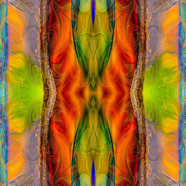 Omaste Witkowski - Halls of Clarity Abstract Healing Artwork by Omaste Witkowski