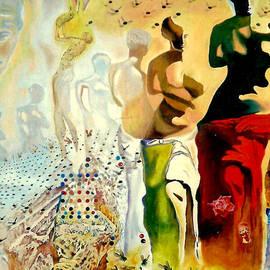 Henryk Gorecki - Halucinogenic Toreador by Salvador Dali