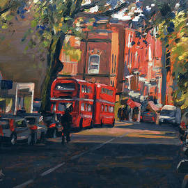 Hampstead High Street London