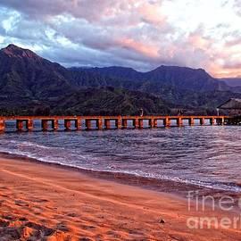 Joseph J Stevens - Hanalei Bay Sunset