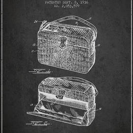 Aged Pixel - Handbag patent from 1936 - Charcoal