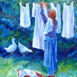 Trudi Doyle - Hanging the Whites