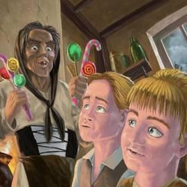 Martin Davey - Hanzel and Gretel in witches kitchen