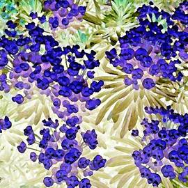 Christine Mulgrew - Happy Blue Flowers