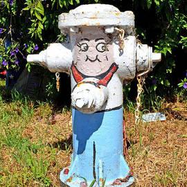 Jim Fitzpatrick - Happy Fire Hydrant