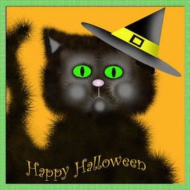Dawn  Gagnon - Happy Halloween Kitty