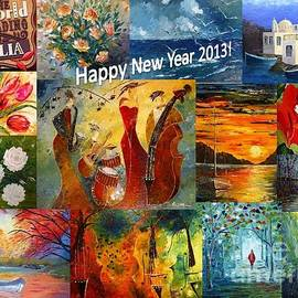 AmaS Art - Happy New Year 2013