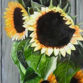 Janet Guss - Happy Sunflowers