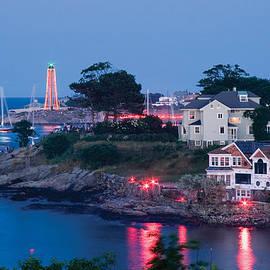 Jeff Folger - Marblehead Harbor Illumination