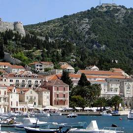 Barbie Corbett-Newmin - Harbor in Hvar Croatia