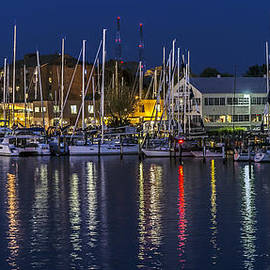 Brian Wallace - Harbor Reflections - Annapolis
