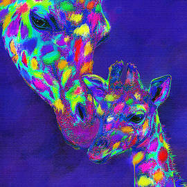 Jane Schnetlage - Harlequin giraffes